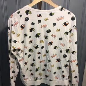 NWOT H&M Happy Sushi Sweatshirt
